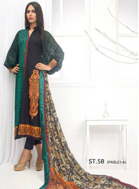 Zainab Chottani  Eid Dresses Collection by Shariq Textiles