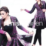 black dress by Nishat Linen 2013  Summer Collection