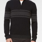 black large mock turtleneck sweaters