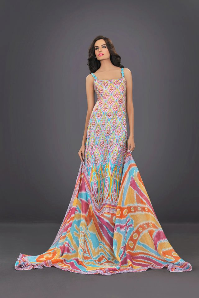 colorful dress by The World Of HSY PrintsSummer 2013
