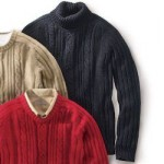 different mens cable knit turtleneck sweaters