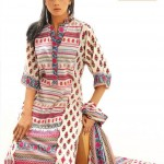 flowerel design of Warda Lawn Collection 2013