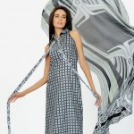 gray dress by HSY NATION Summer 2013