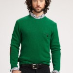 green jersey crewneck sweater product