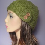 green winter hat 1
