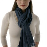 how to tie winter scarf 1