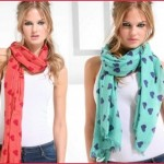 how to tie winter scarf 5