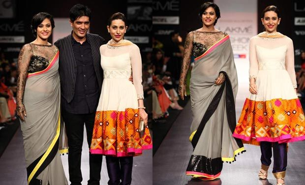 kajol at the  Manish Malhotra Lakme Fashion Week 2013 3