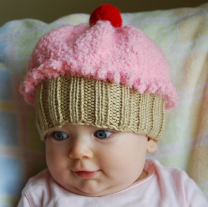 knit baby hats 1