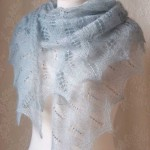 knitted shawl 1