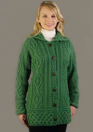 Misses Kelly Green Sweater 35