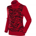 latest womens red sweaters