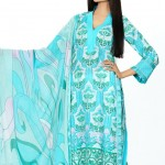 light blue dress by HSY NATION Summer 2013