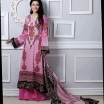 light pink dress by Al-Zohaib Textiles 2013 Lawn Collection