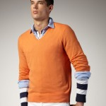 men orange sweaters product