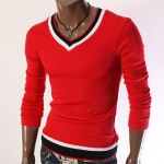 men red sweaters