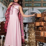 pink ,red and and black dress by Al-Karam Allure-Summer Collection 2013