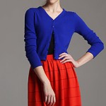 red cashmere cardigans sweaters