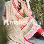 skin dress by Nishat Linen 2013  Summer Collection