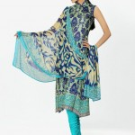 sky blue dress by HSY NATION Summer 2013