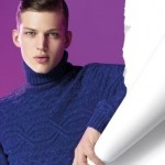 style sweaters drak blue color
