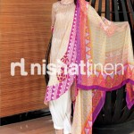 stylish conttras by Nishat Linen 2013  Summer Collection