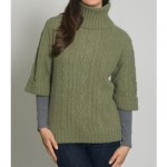 wool overs womens green sweaters