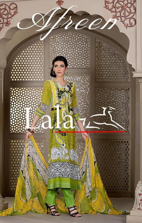 Afreen by Lala Eid Collection  2
