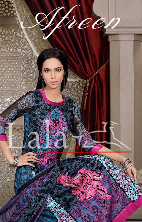 Afreen by Lala Eid Collection 5