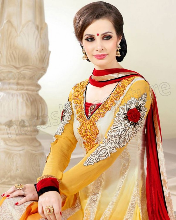 Anarkali Frock Eid Collection By Natasha Couture 12