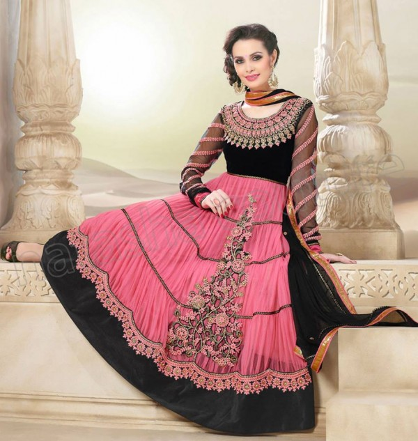 Anarkali Frock Eid Collection By Natasha Couture 4