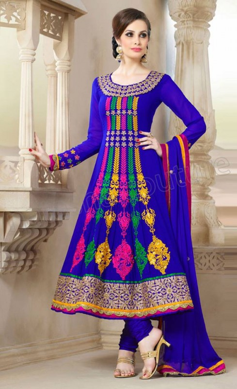 Anarkali Frock Eid Collection By Natasha Couture 7