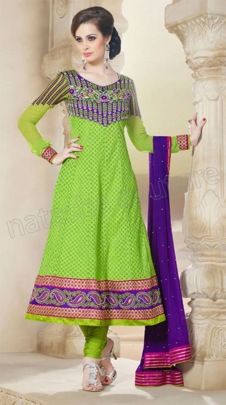 Anarkali Frock Eid Collection By Natasha Couture