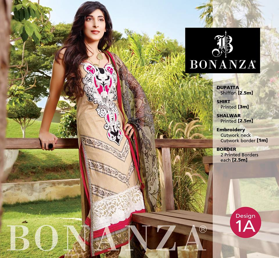 Bonanza Garment Latest Eid Collection 3