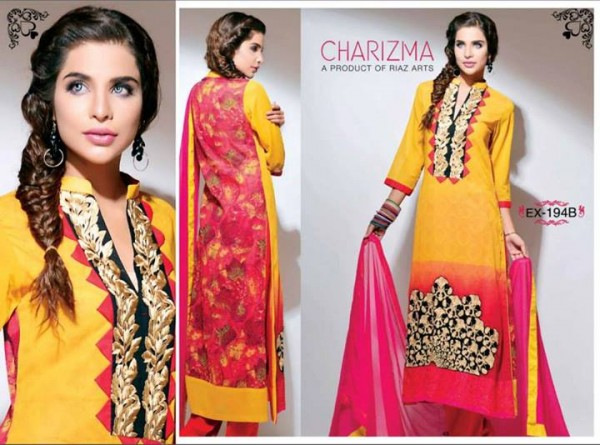 Charizma Lawn Eid Collection 7