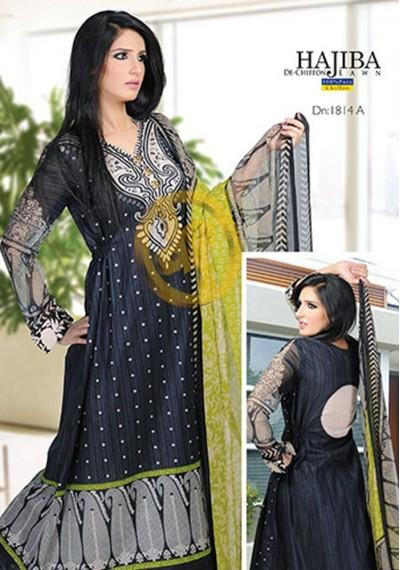 Dawood Hajiba De Chiffon Lawn Volume-2 Collection (5)