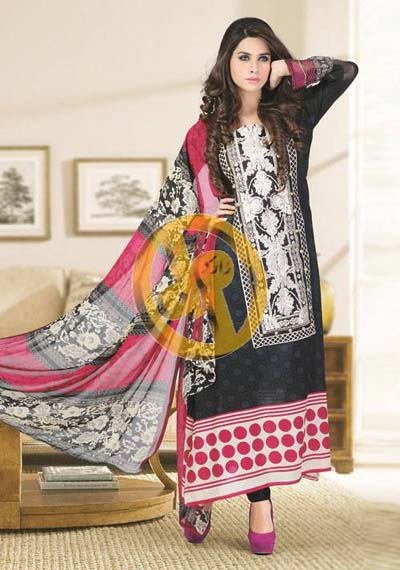 Dawood Liali Embroidered Lawn Volume-2 Collection 2013 (10)