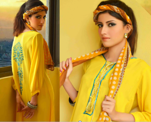 Eid Dresses Collection By Change (2)
