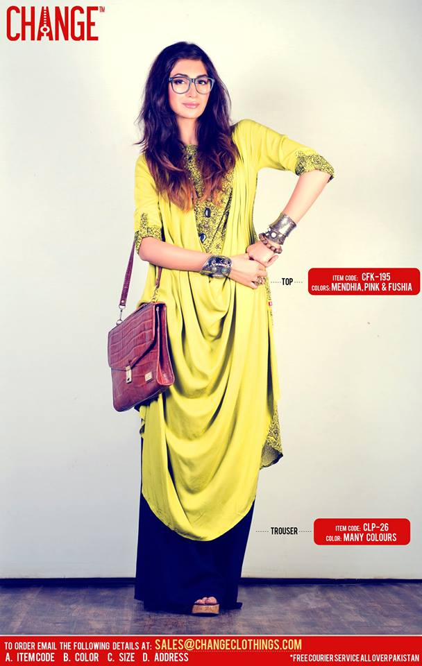 Eid Dresses Collection By Change (6)
