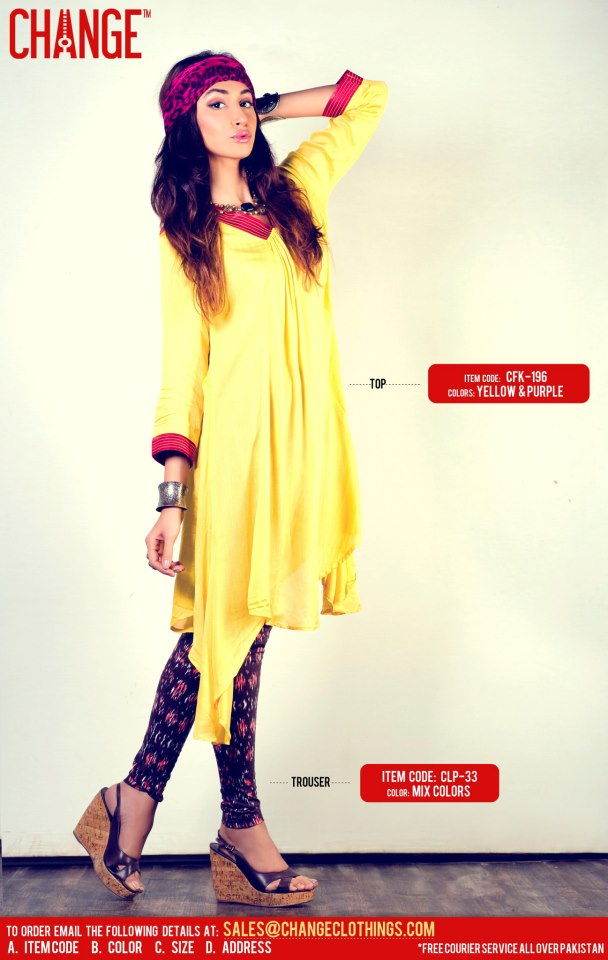 Eid Dresses Collection By Change (7)