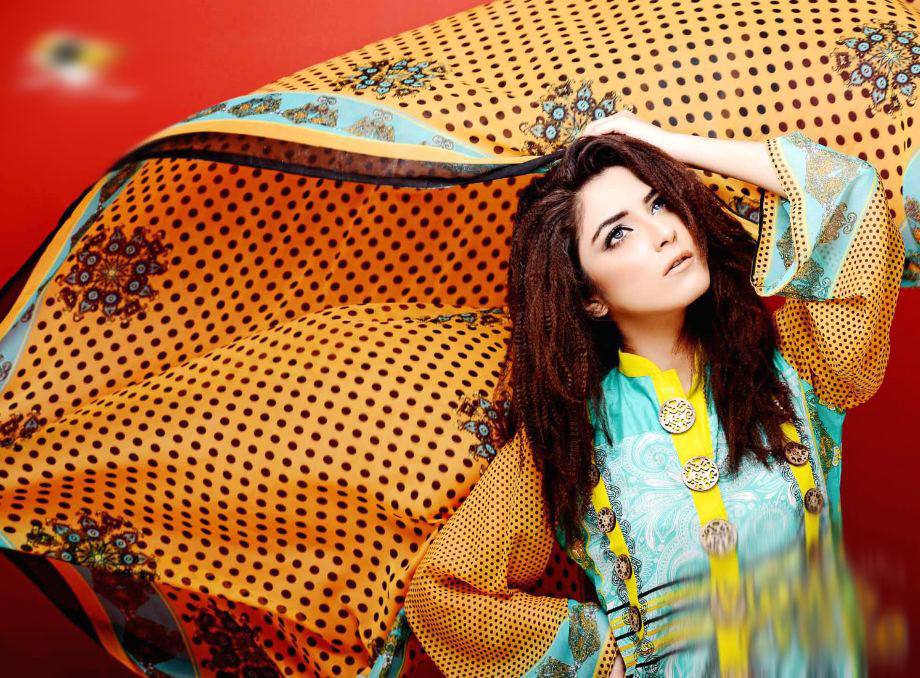 Eiza Egyption E9 Lawn Eid Collection 2013 by UA Textile 1