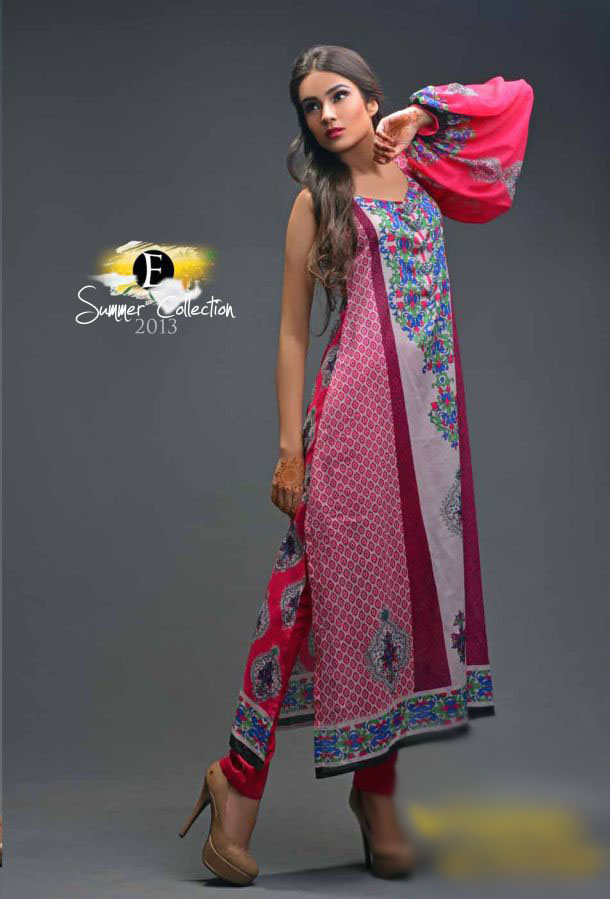 Eiza Egyption E9 Lawn Eid Collection 2013 by UA Textile 2
