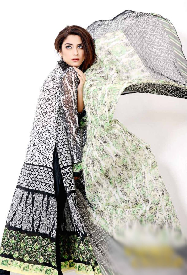 Eiza Egyption E9 Lawn Eid Collection 2013 by UA Textile 3
