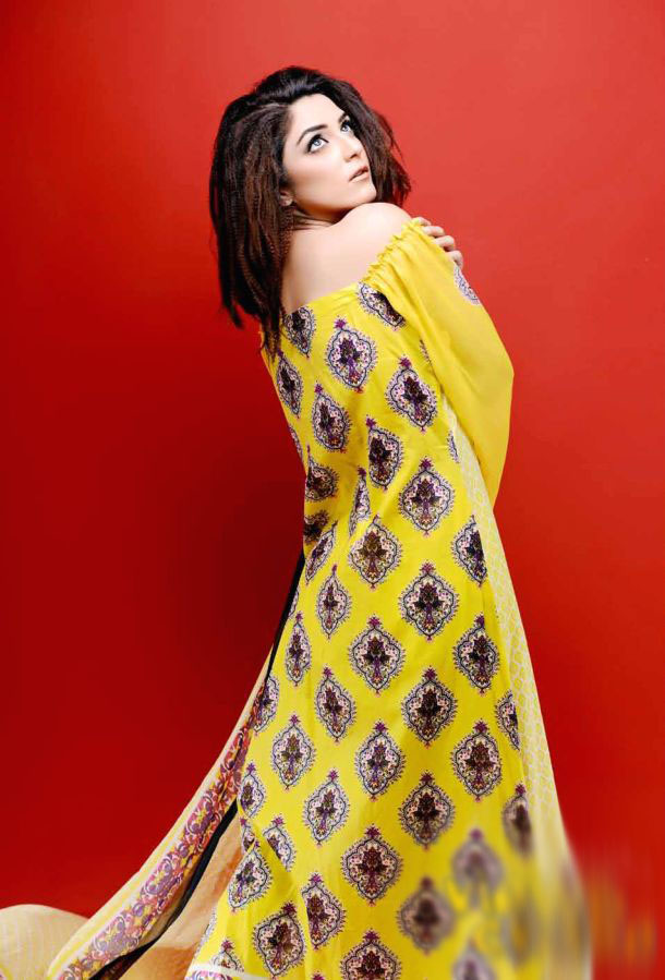 Eiza Egyption E9 Lawn Eid Collection 2013 by UA Textile 8