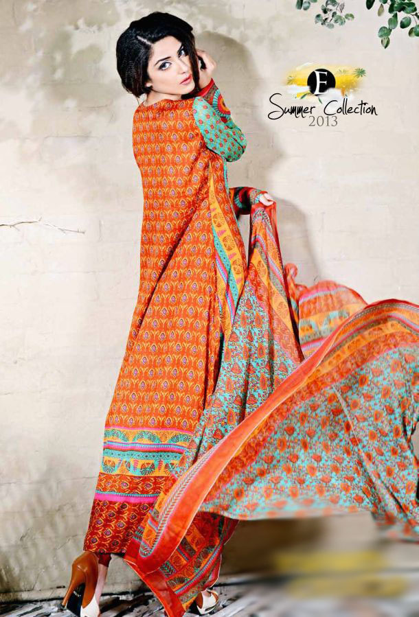 Eiza Egyption E9 Lawn Eid Collection 2013 by UA Textile 9
