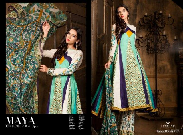 Fahad Hussayn Couture Lawn Collection