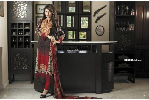 Firdous Chiffon Girls Collection 2013 (13)