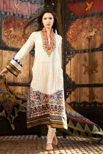 Firdous Spring Summer Lawn Collection (1)