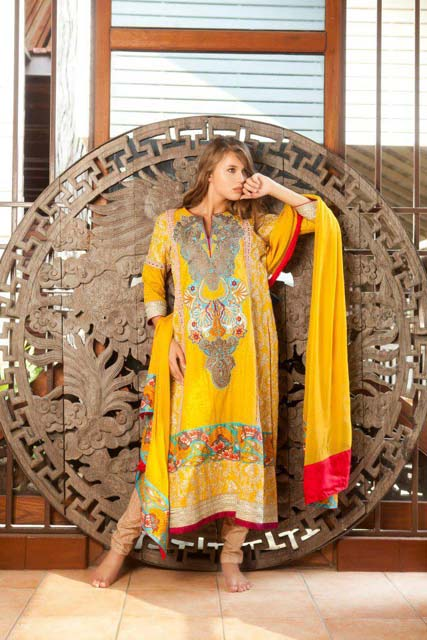 Firdous Spring Summer Lawn Collection (5)