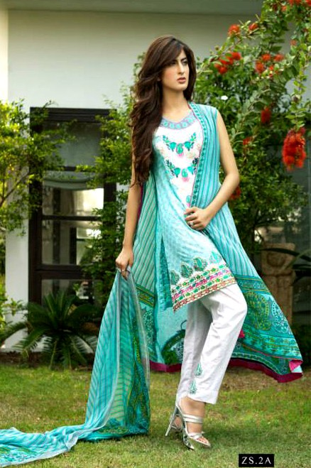 Kalyan Limited Eid Collection 2013 By Z.S Textile (4)